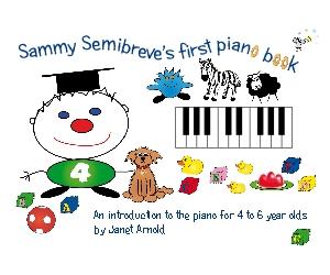 Fun starter piano book for age 4-6
